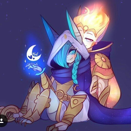 Xayah & Rakan: lovers and rebels