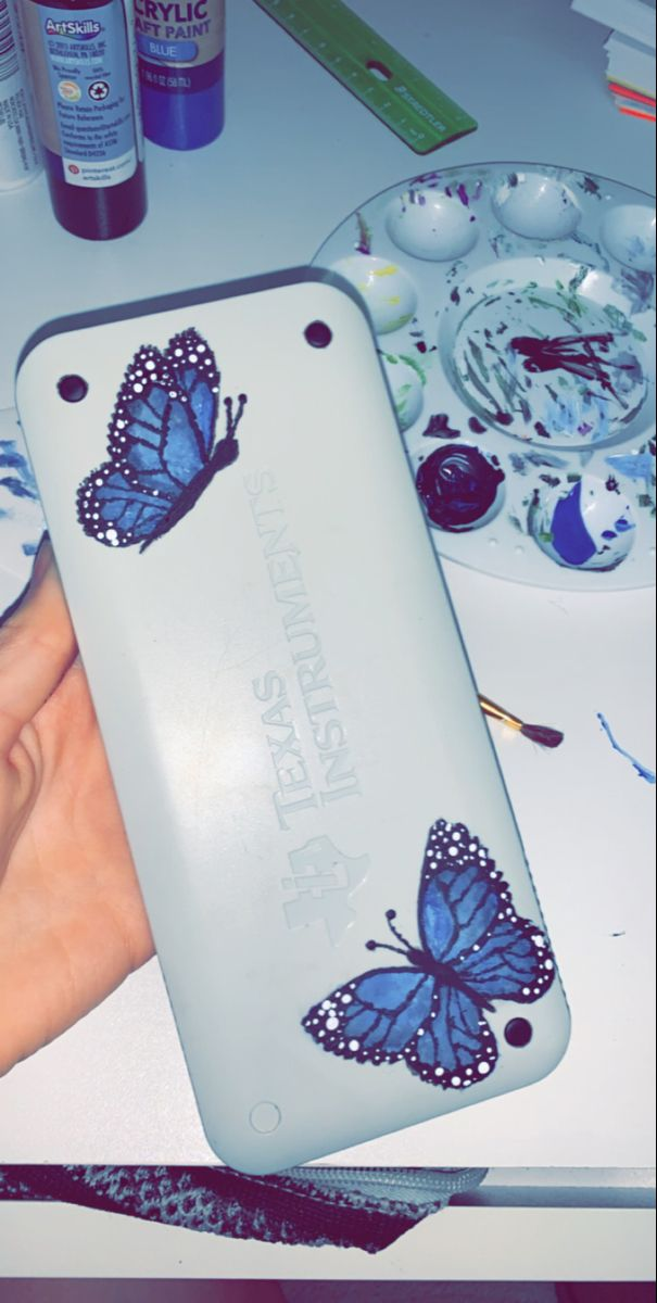 butterfly calculator painting in 2020 | Paint calculator ...