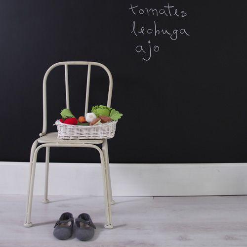 Pintura de Pizarra Negro Tinta: un clásico www.cuartocolor.es ...