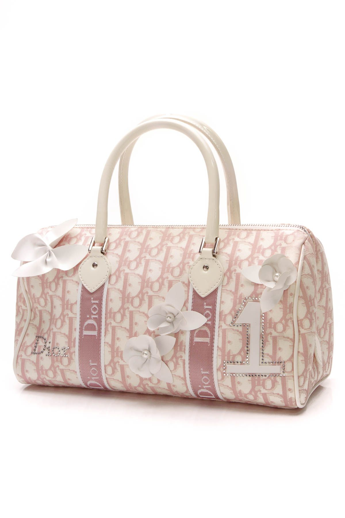 91c2583d50ad Girly flowers boston bag diorissimo canvas in the bag jpg 1200x1800 Dior  beige bag girly pictures
