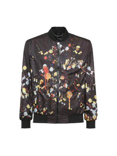 a95b7d8328 Pin by ModeSens on Philipp Plein Men | Printed bomber jacket, Bomber Jacket,  Jackets