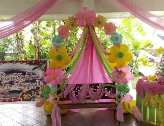 Cute balloon arch