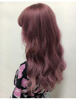 Lapis渋谷 パープルピンク ヘアカラー ヘアカラー ピンク ヘア