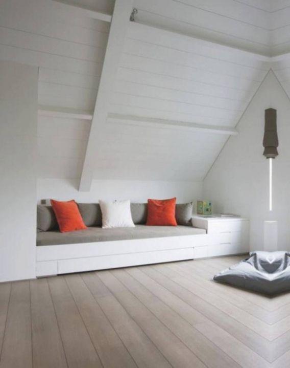 slaapkamer ideeen met schuin dak slaapkamer inrichten schuin dak ...