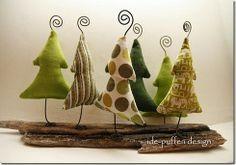 Weihnachten mit Treibholz