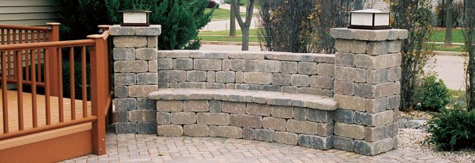 How To Build A Stone Wall Bench Wall Bench Building A