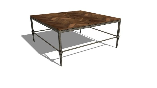 Sensational Large Preview Of 3D Model Of Everett Cocktail Table By Interior Design Ideas Clesiryabchikinfo