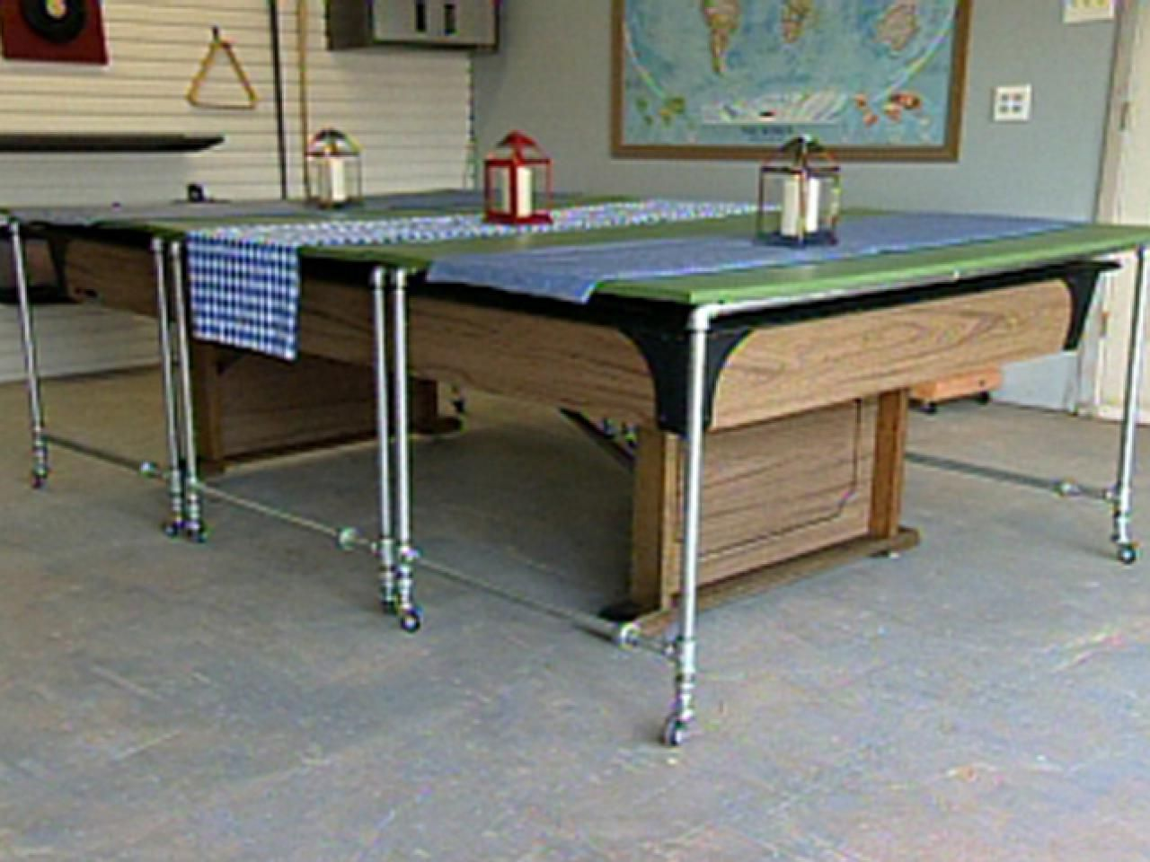 How To Build Rolling Pool Table Covers