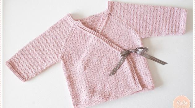 modeles et explications layette a tricoter