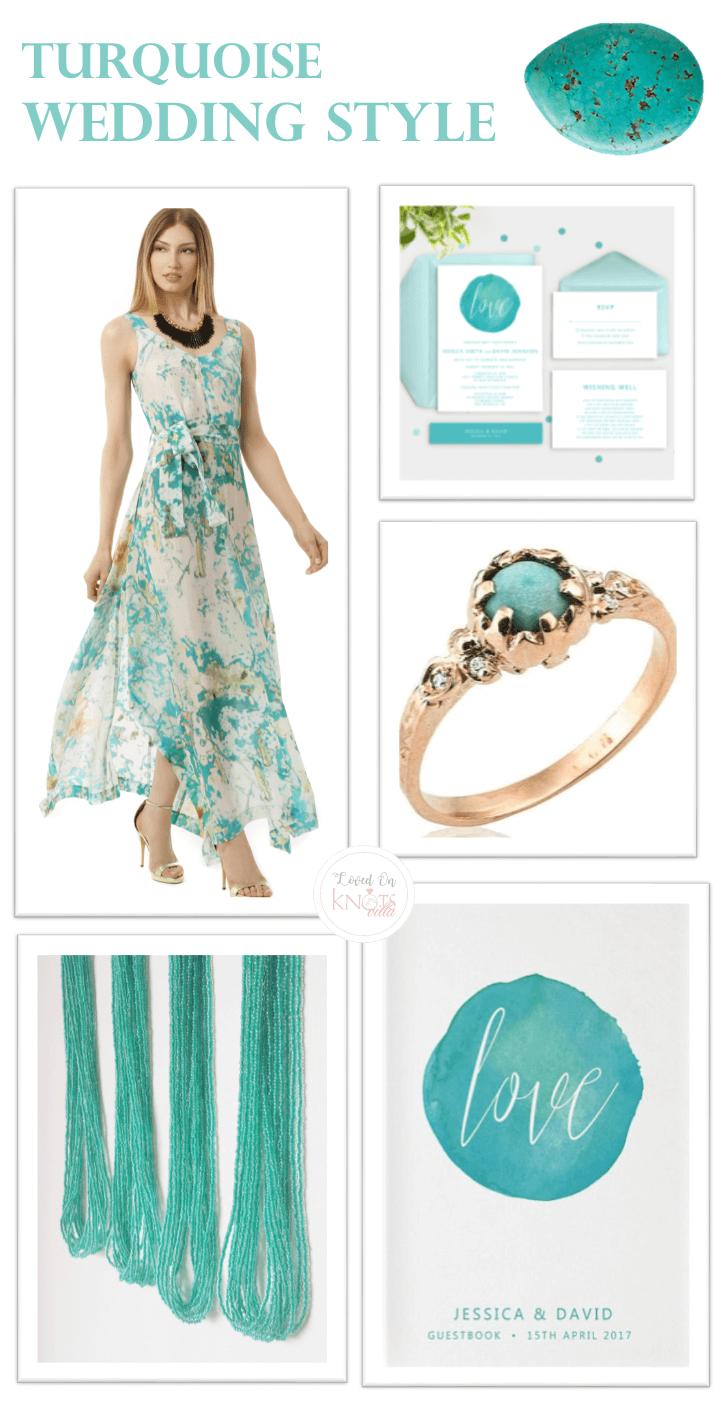 December 2016 Turquoise Wedding Style | Turquoise weddings, Wedding ...