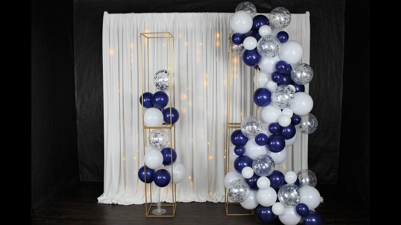Balloon Garland DIY Review Tutorial How To The