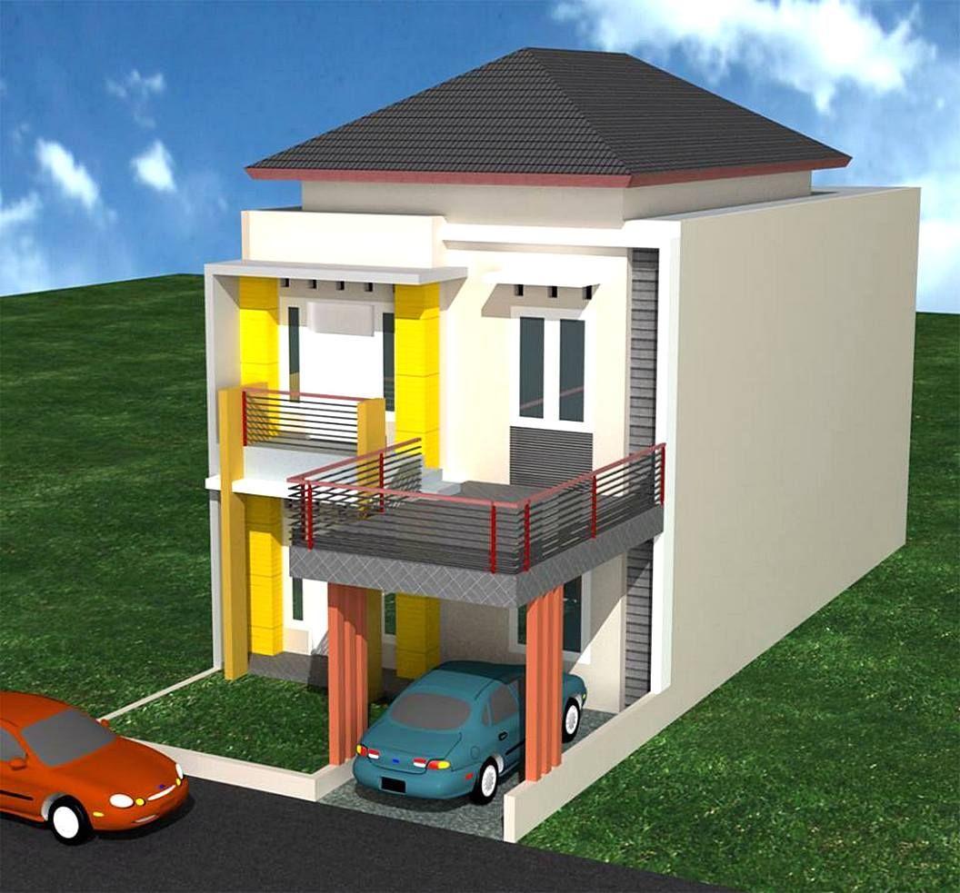 Contoh Rumah Sangat Sederhana Terbaru Desain Rumah Minimalist