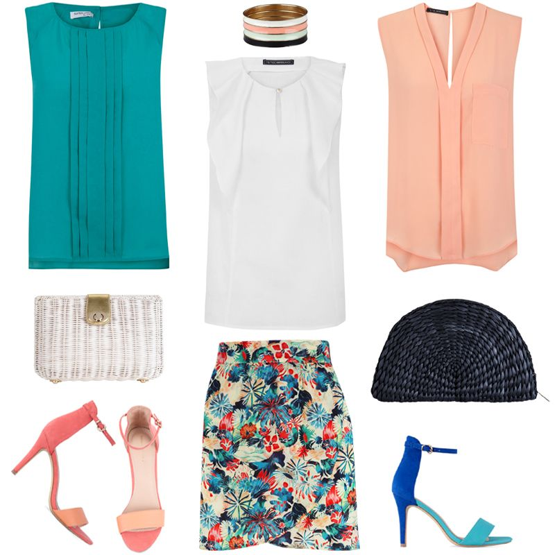 Shop Now Blanco.com: Top / Pulseras / Top / Bolso / Top / Bolso / Calzado / Falda / Calzado. (SUITEBLANCO Spring Summer 2013 Collection).