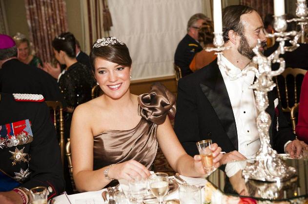 Oct 19 - Princess Alexandra of Luxembourg attend a Gala dinner.