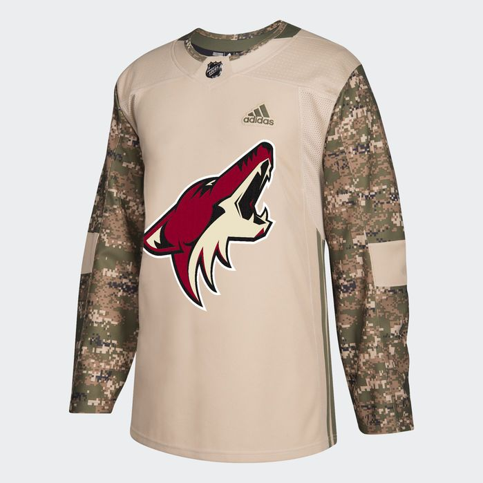 innovative design 17512 52a06 Coyotes Camo Authentic Jersey in 2019 | Products | Adidas ...