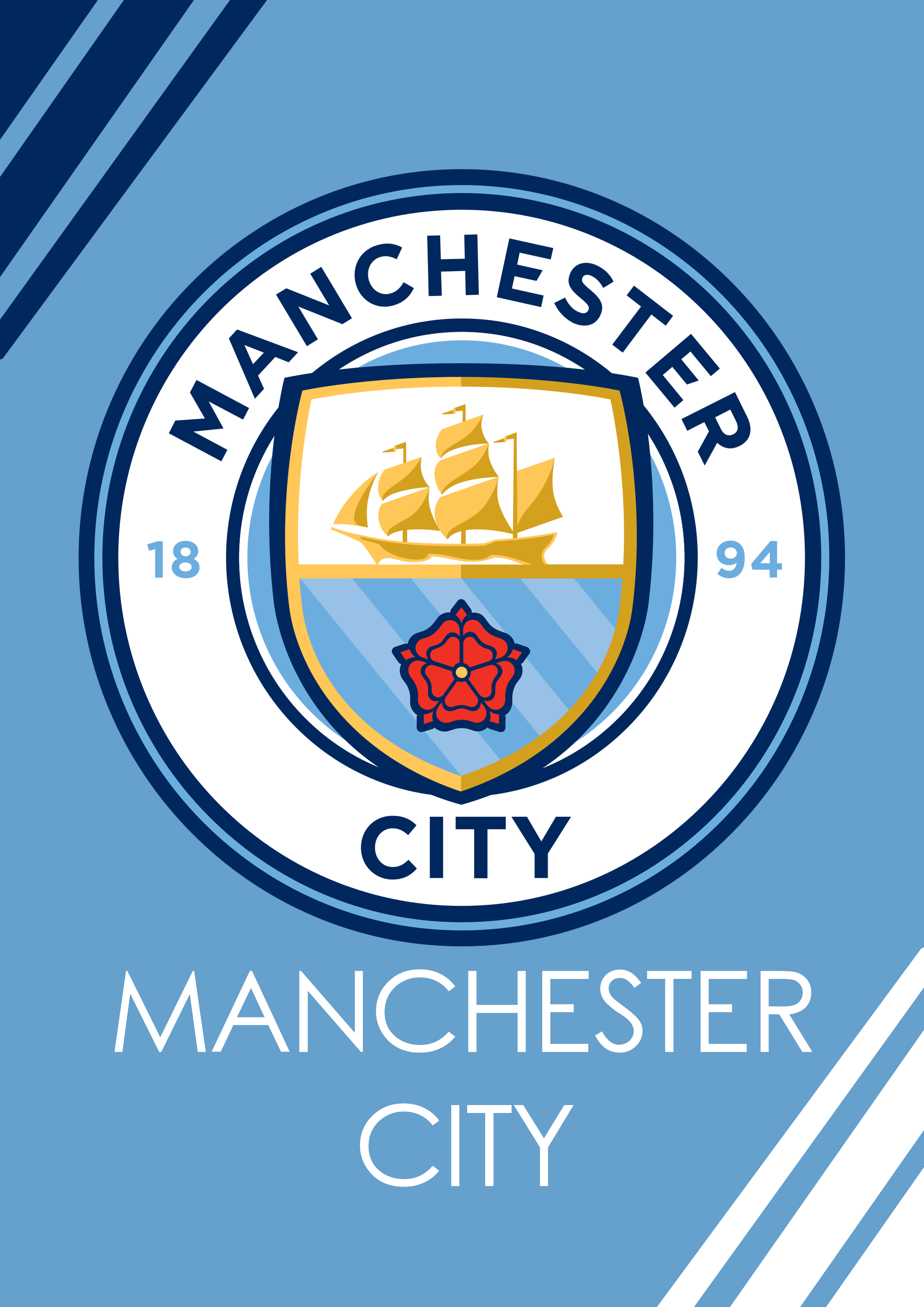 Manchester City They Ll Never Let Me Down Sepak Bola Eropa Sepak Bola Olahraga