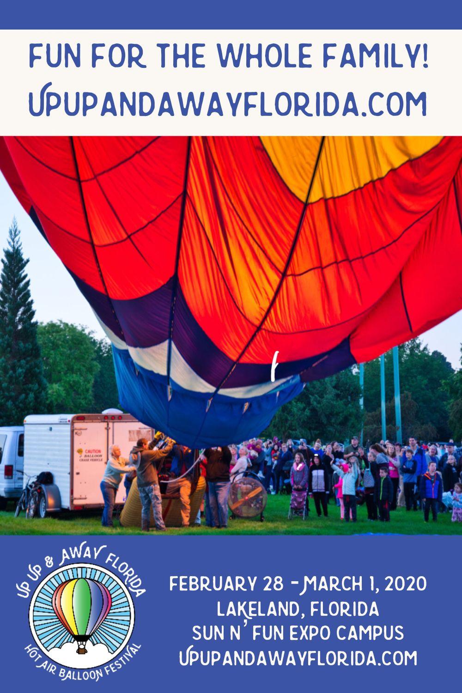 3 day Hot air balloon festival in Lakeland Florida