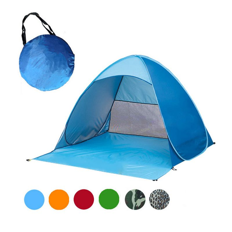 Cheap tents cheap Buy Quality tent awnings directly from China tente Suppliers Persons fishing tent Outdoor c&ing hiking beach summer tent UV protection ...  sc 1 st  Pinterest & Tourist Fishing Ultralight Folding Tent Automatic Open Pop Up Tent ...