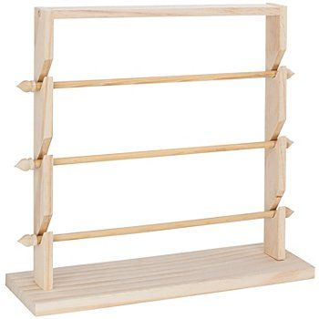support en bois bois brut rangement