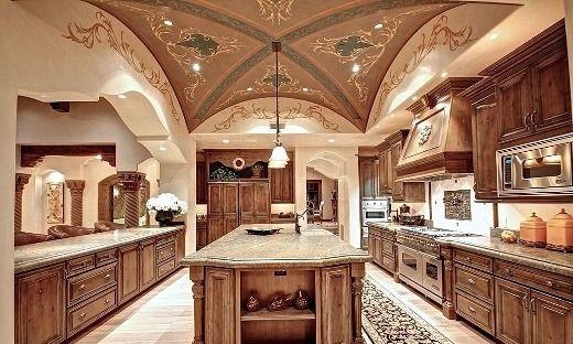 Points For Your Kitchen Art Royal Kitchen Art Designs Palatial Kitchen Art Designs Mediterranean Kitchen Design Luxury Kitchens House Design