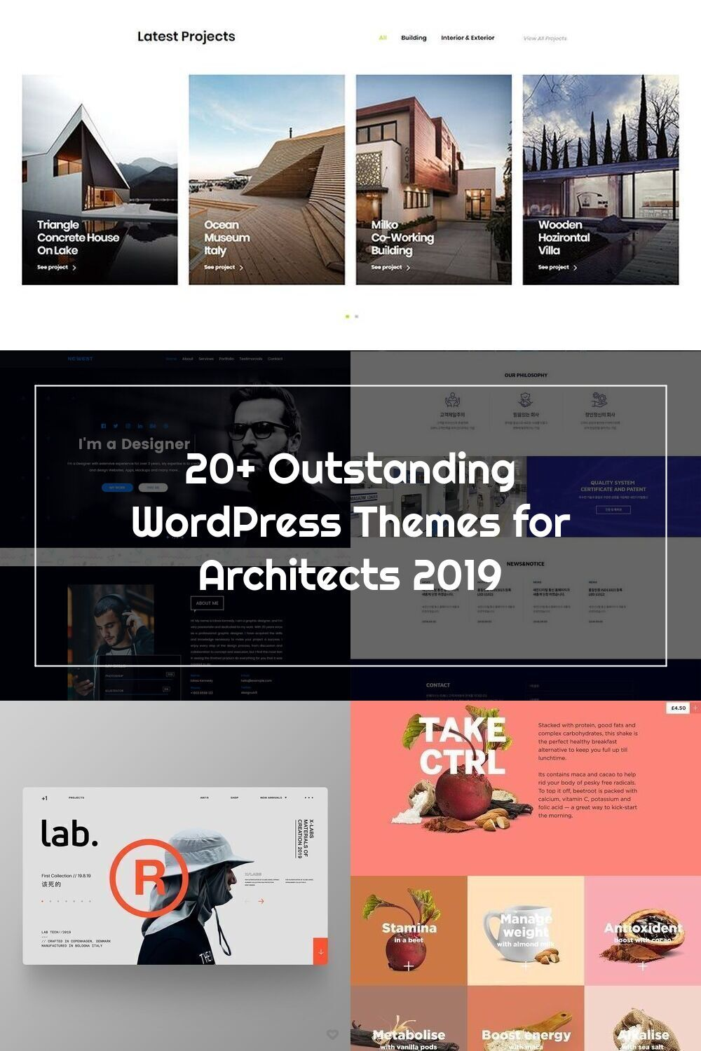 Designed With Special Care Bauhaus Is A Trendy Wordpress Theme Trusted By In 2020 Wordpress Theme Theme Design
