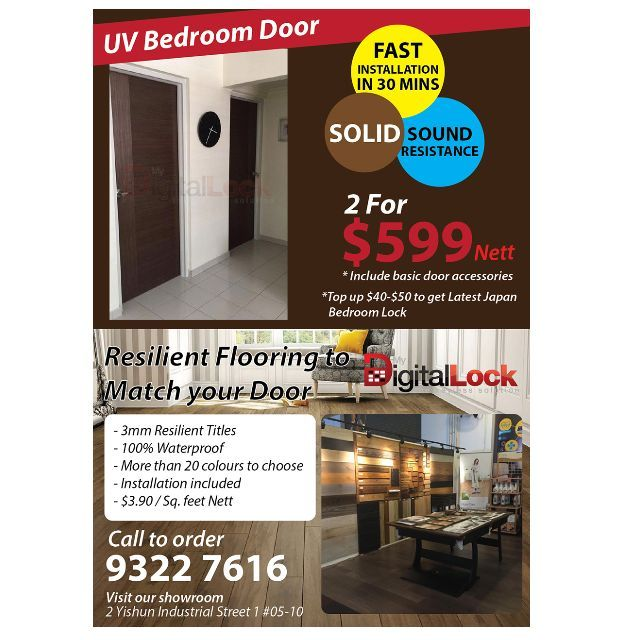 Bedroom SOLID Door at Factory Price for HDB. Call 92229315 or visit us at   sc 1 st  Pinterest & Bedroom SOLID Door at Factory Price for HDB. Call 92229315 or ...
