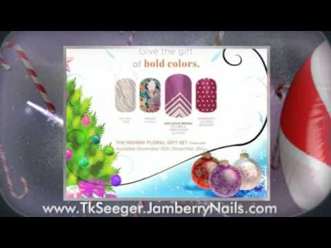 Jamberry Nails Holiday Gifts Sets (www.tkseeger.jamberrynails.com)  only available for a limited time