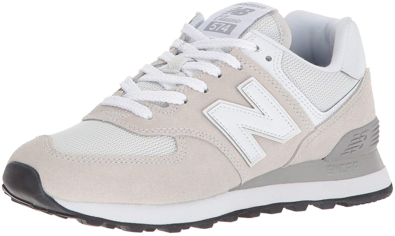 New Balance Women's Iconic 574 Sneaker, White