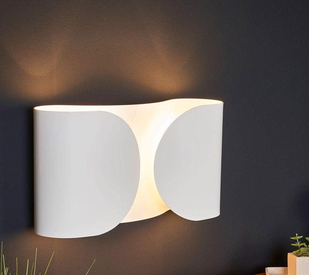 Lampada da parete a luce diretta/indiretta/parzialmente ...
