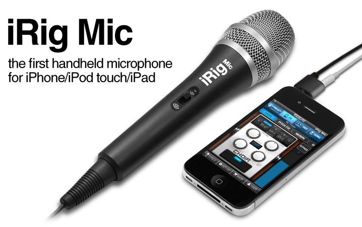iRig Mic is the first handheld, quality condenser
