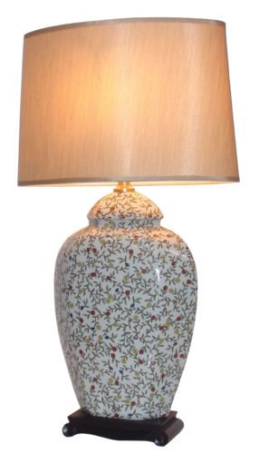 Details About Now 30 Off Oriental Ceramic Porcelain Table Lamp