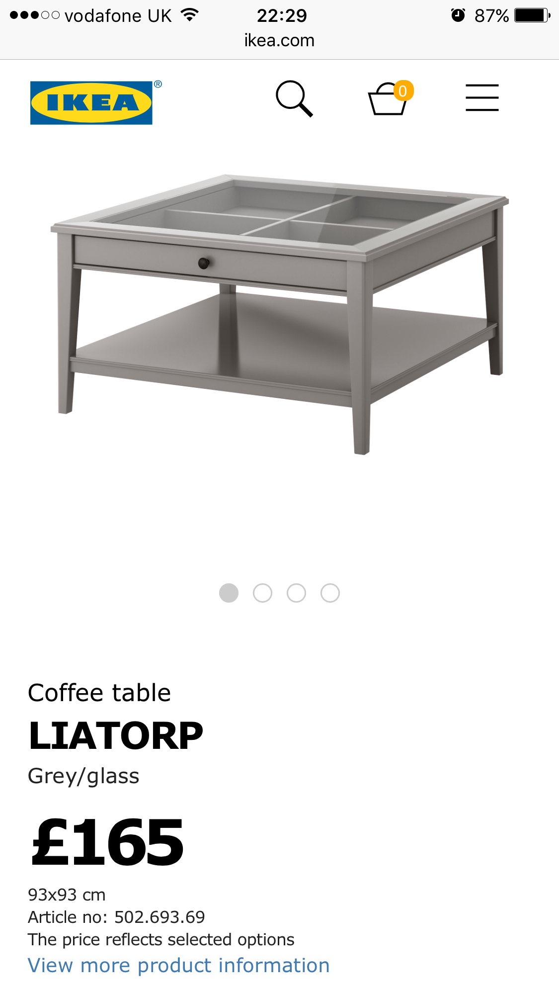 Liatorp Coffee Table Whiteglass Ikea Ikea Coffee Table