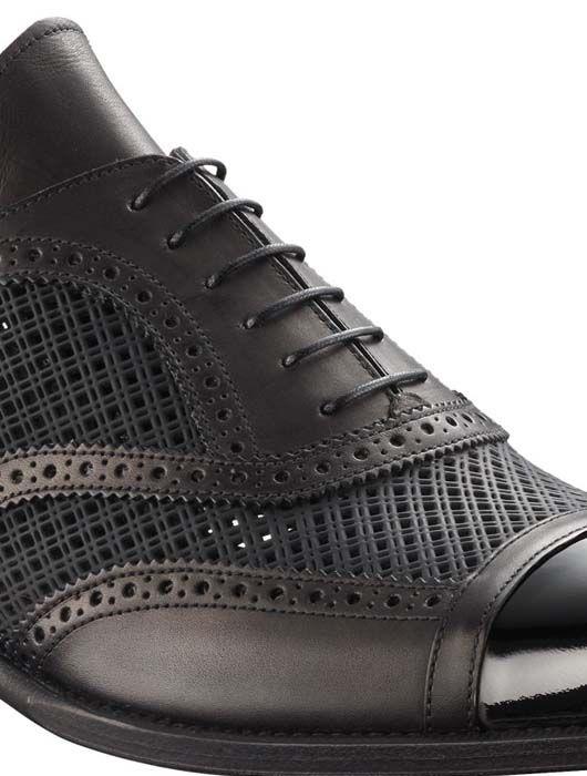 7c81965d9c8 Louis Vuitton Mens Shanghai richelieu in mixed patchwork 3 | SHOES ...