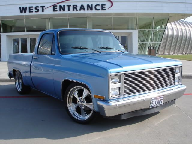 87 Chevy Truck Airride C10 Ob Houston C L The 1947
