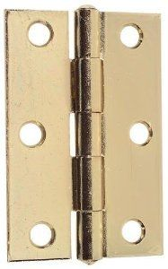 Brainerd 2 Brass Plated Cabinet Door Hinge 31532 By Brainerd Manufacturing 1 11 Brass Plated Non Removable Siz Hardware Zinc Plating Construction Hardware