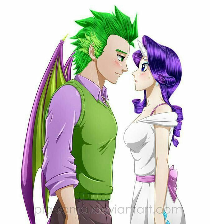 spike and rarity my little pony mlp pony little pony