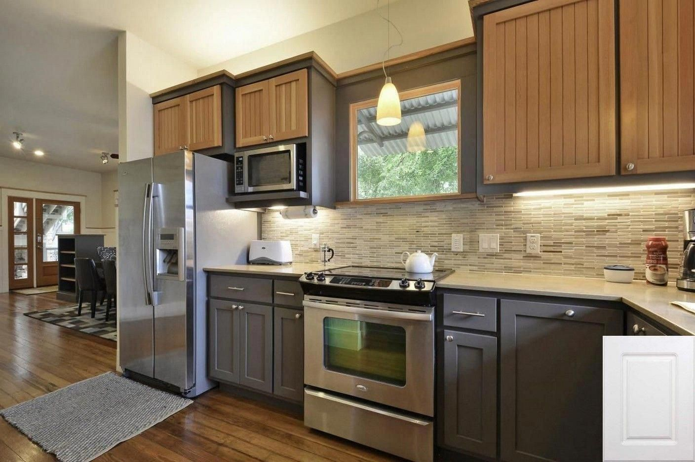 Should I Paint My Cabinets Or Replace Them Painting Kitchen Cabinets Greige K In 2020 Kitchen Cabinet Trends Kitchen Cabinet Colors Different Color Kitchen Cabinets