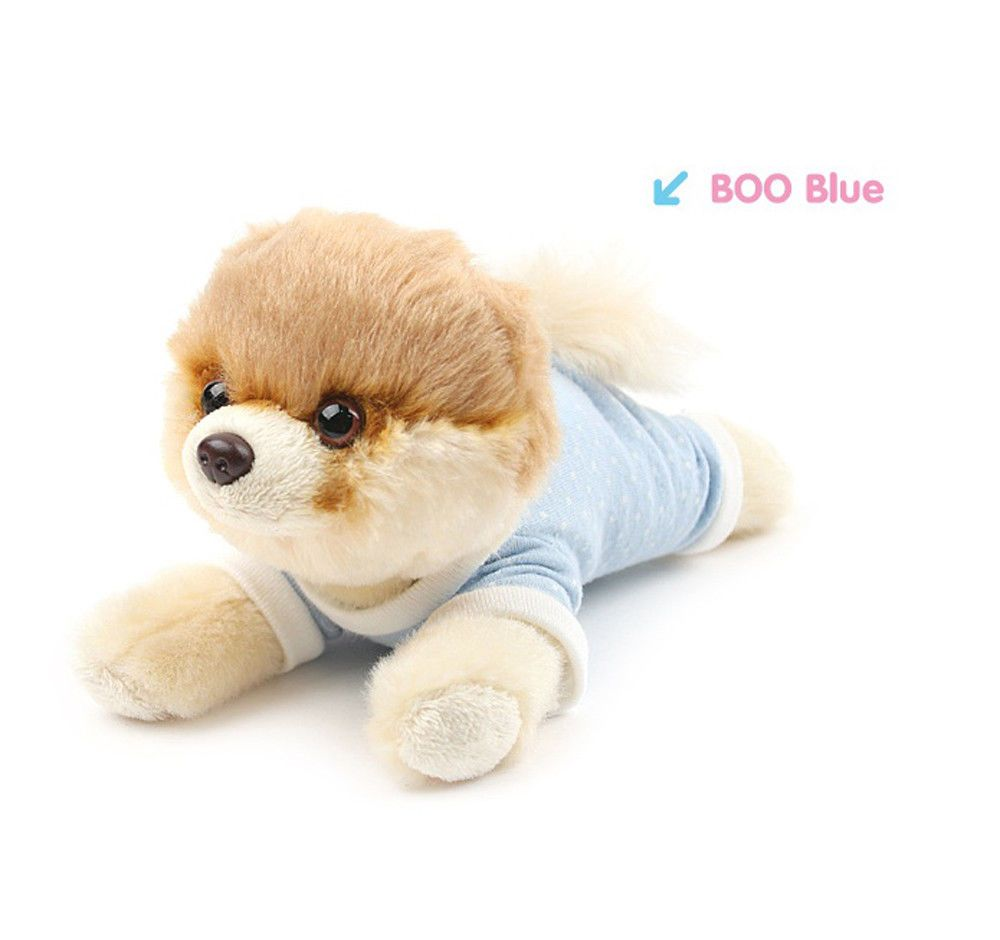 4037130 Gund The World S Cutest Dog Itty Bitty Boo Blue Pajamas 7