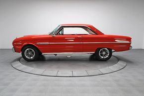 1963 Ford Falcon Futura Sprint The Falcon was the foundation that allowed for cr…