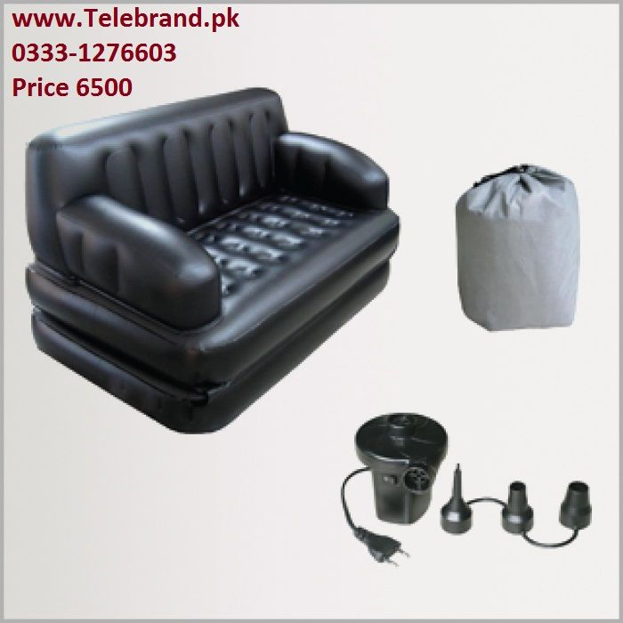 Reclining Sofa Get Off on Bajya In Inflatable Sofa Cum Bed Black Coupon Informer