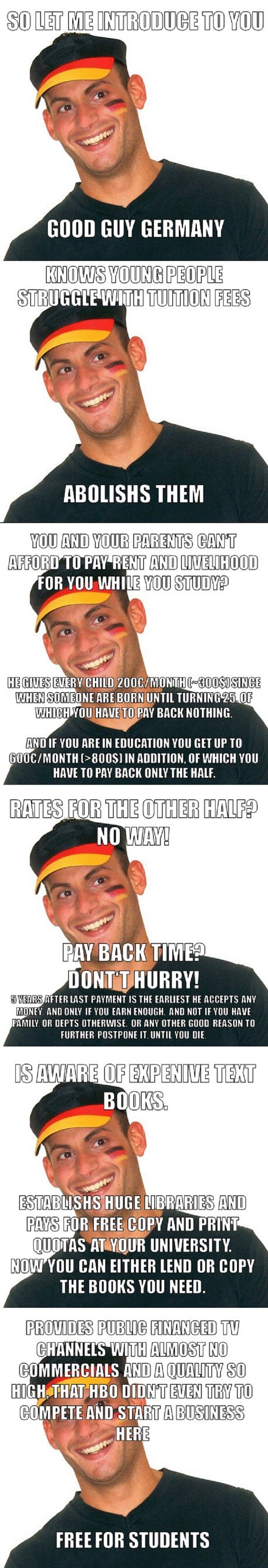 Good Guy Germany (With images) A good man, Best funny