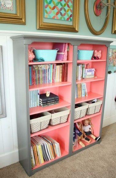 Donner un coup de jeune à un vieux meuble  utiliser 2 couleurs
