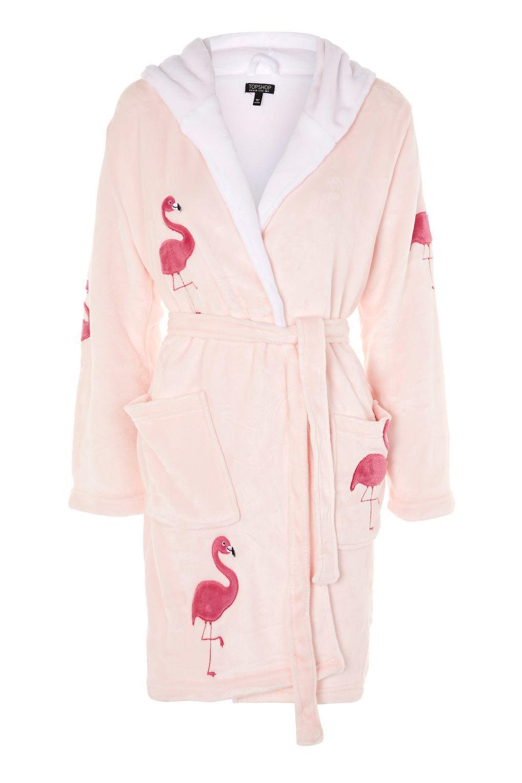 d0af022452d Flamingo Novelty Robe - Topshop USA