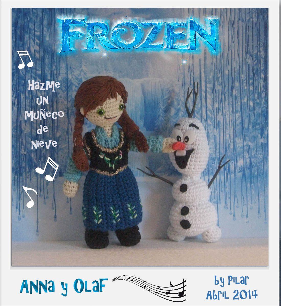 Crochet Dolls, Crochet Amigurumi Toys, Anna Olaf ...