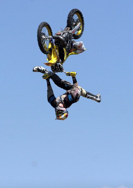 It Would Be So Fun To Jump And Flip A Dirt Bike Freestyle