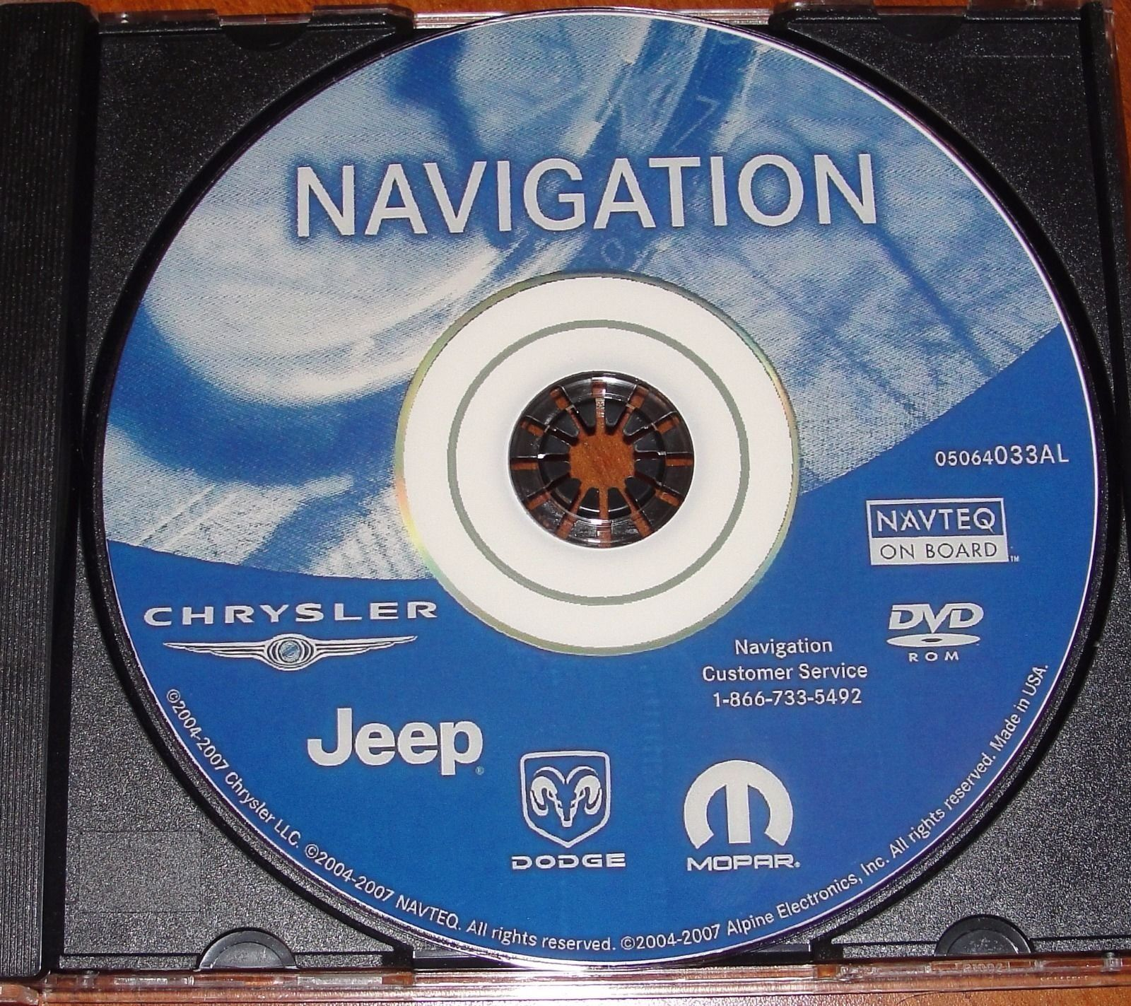 LATEST GPS NAVIGATION MAP UPDATE for 2002-2007 DODGE CHRYSLER JEEP ...