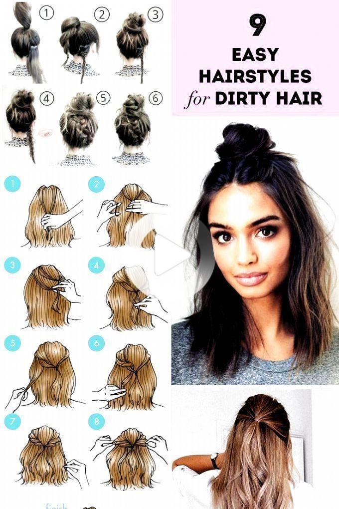 kapsels eenvoudig makkelijk #hairstyles #simple #easy | kapsels eenvoudige & kapsels eenvoudig in 2020 | Hair styles, Easy hairstyles, Long pixie hairstyles