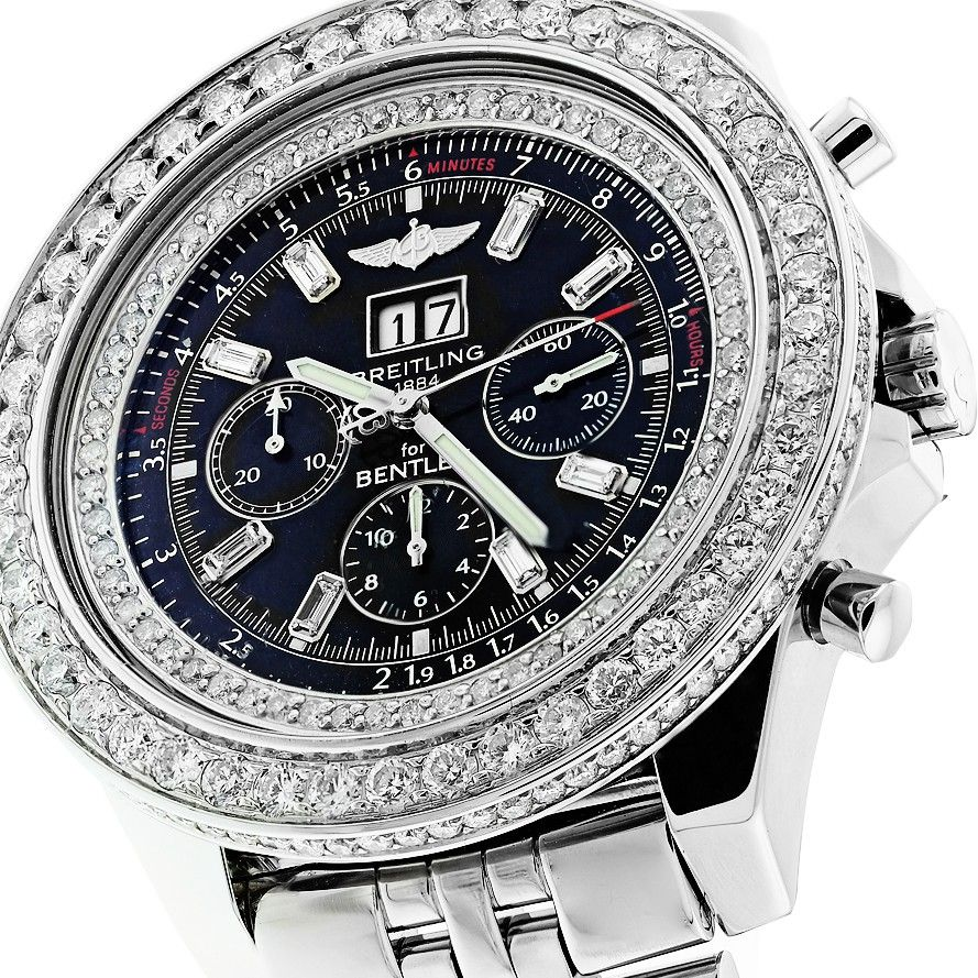 f26c5d2013f Diamond Breitling Bentley Watches