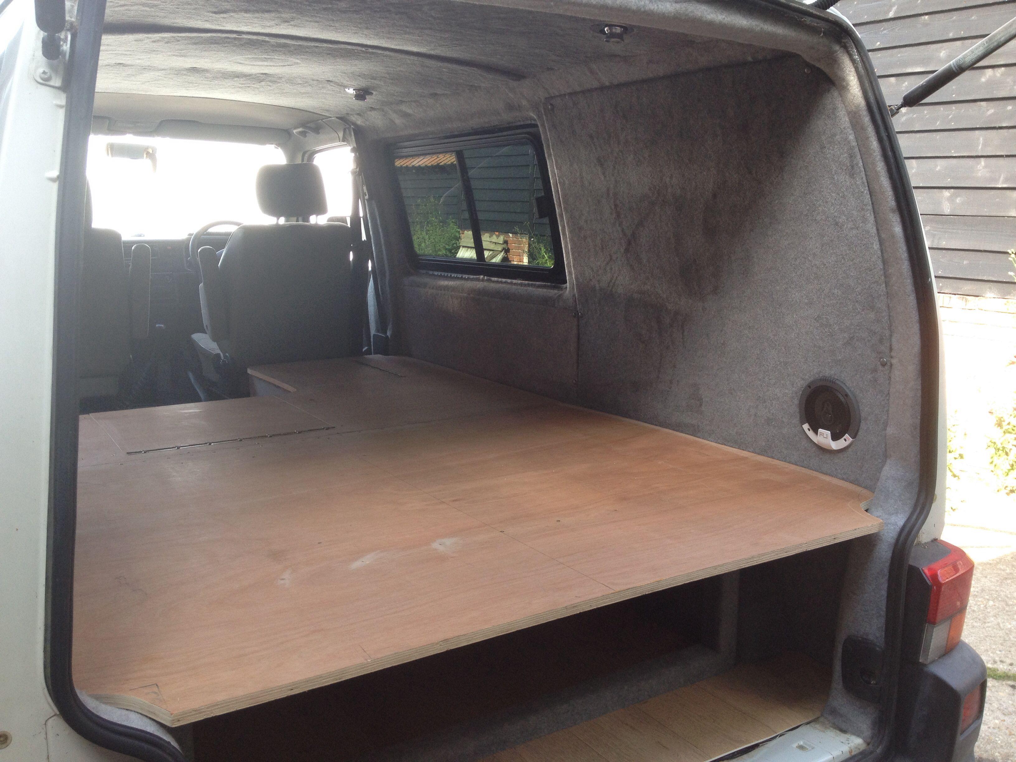 Custom built interior in a T4 we did recently, bulkhead