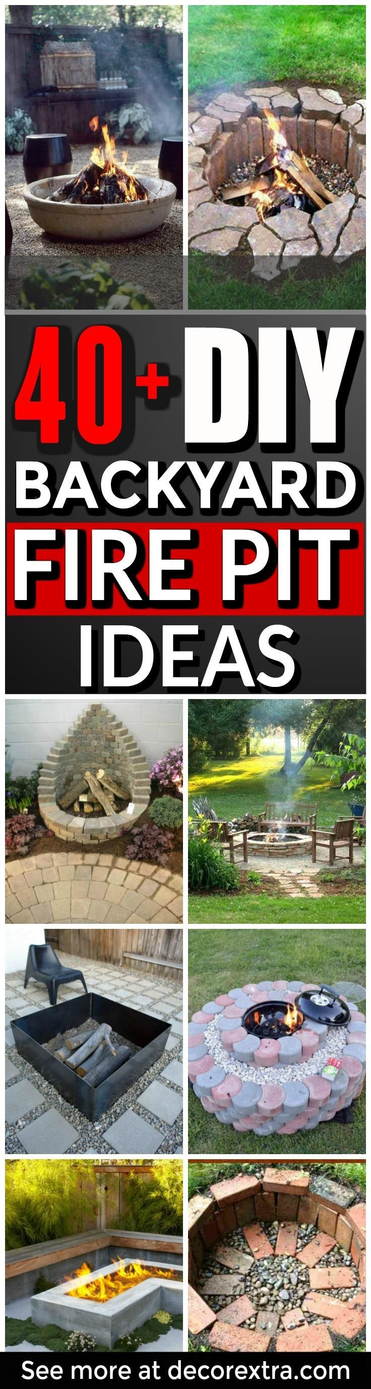 diy fire pits 40 amazing diy outdoor fire pit ideas you must see